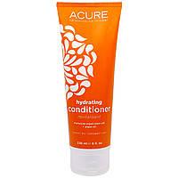Acure Organics, Восстанавливающий кондиционер, стволовые клетки марокканского аргана + аргановое масло, 235 мл