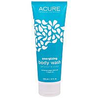 Acure Organics, Гель для душа, стимуляция роста клеток, с облепихой + CoQ10, 8 жидких унций (236 мл)