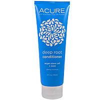 Acure Organics, Глубокое восстановление волос и корней, с аргановыми стволовыми клетками, 4 жидких унции (118 мл)