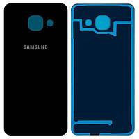 Задня кришка Samsung A310 Galaxy A3 (Чорна)