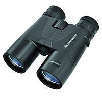 Универсальный бинокль для туризма, полевых наблюдений, охоты Spektar 8x42 WP черный  Bresser 920451.
