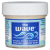Aroma Naturals, The Wave, Natural Sports Soothing, Cooling Comfort Gelee, 1 oz