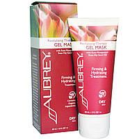 Aubrey Organics, Восстанавливающая лечебная гелевая маска, для сухой кожи, 3 жидких унции (89 мл)