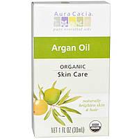 Aura Cacia, Органическое аргановое масло, 1 жидкая унция (30 мл)
