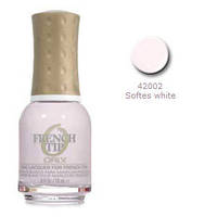 ORLY лак для ногтей для французского маникюра №42002 softest white 18 ml.