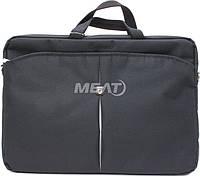"Сумка для ноутбука Continent CC-01 Black/Silver 15,6"""