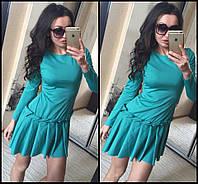 Платье юбка в складку