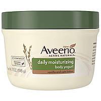 Aveeno, Природные активные компоненты, увлажняющий йогурт для тела, для ежедневного использования, 7 жидких унций (198 г)