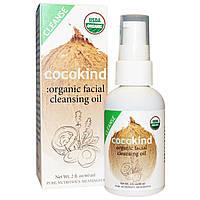 Cocokind, Органическое масло кокоса & жожоба, 4 унции (118 мл)