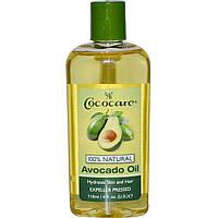 Cococare, Масло авокадо, 4 жидких унций (118 мл)