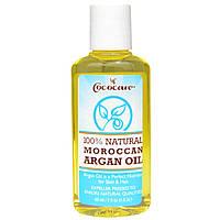 Cococare, 100% натуральное марокканское аргановое масло, 2 жидкие унции (60 мл)