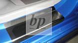 Защитные хром накладки на пороги Kia Picanto I SA (киа пиканто 2004-2011), фото 2