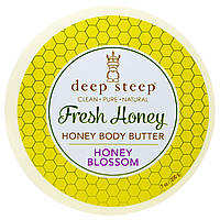 Deep Steep, Свежий мед, масло для тела, медовый букет, 7 унций (200 г)
