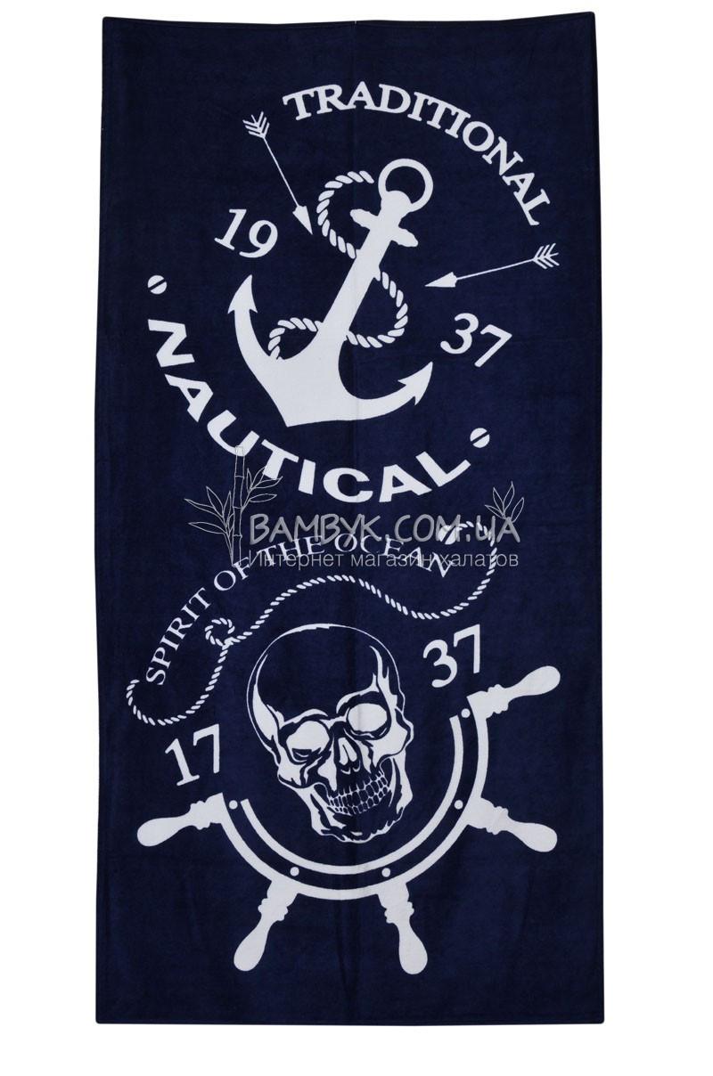 """Полотенце пляжное 75*150 """"Anchor-6"""" Merzuka"""