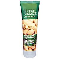 Desert Essence, Идеальный восстанавливающий крем для ног с фисташковым маслом, Восстановление, 3,5 ж. унции (103,5 мл)