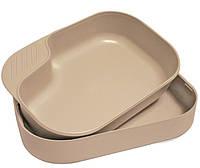 Кемпинг бокс-набор тарелок Camp-a-box®, coyote. Швеция, оригинал.