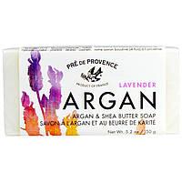 European Soaps, LLC, Pre De Provence, мыло с арганой и маслом ши, лаванда, 5,2 унции (150 г)