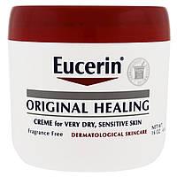 Eucerin, Original Healing, Creme for Very Dry, Sensitive Skin, Fragrance Free, 16 oz (454 g)