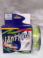 Леска рыболовная JANTHINA pike 0.25мм,6.9кг,100м,siweida