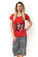 Пижама с короткими рукавами Night Ange Памук