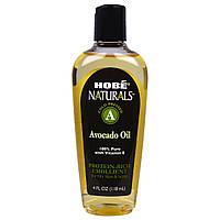 Hobe Labs, Naturals, масло авокадо, 4 жидких унции (118 мл)