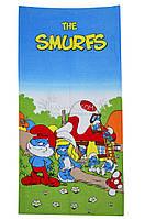 "Рушник пляжний 75*150 ""Smurfs"" Merzuka"