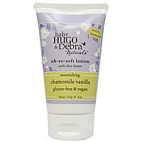 Hugo Naturals, Мягкий лосьон для малышей с маслом ши, экстрактами ромашки и ванили, 4 унции (113 мл)