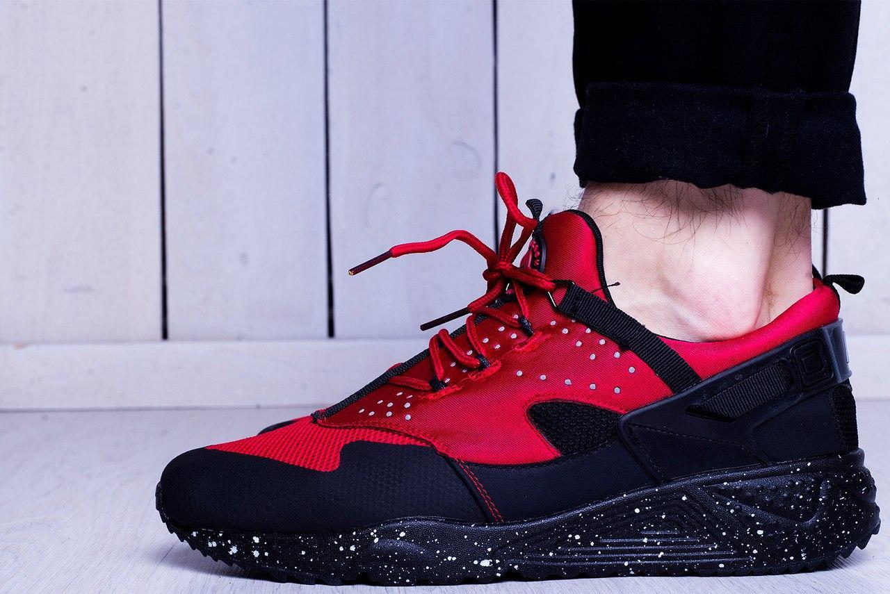3faceb9d32e5 ... Кроссовки мужские Nike Air Huarache Hyper Punch красно-черные - Спортивный  магазин Kosas в Харькове ...