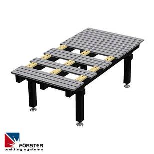 Зварювальний стіл 2.400 x 1.200 x 810 мм