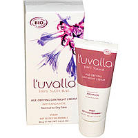 Luvalla Certified Organic, Антивозрастной дневной / ночной крем, 1,4 унции (40 г)