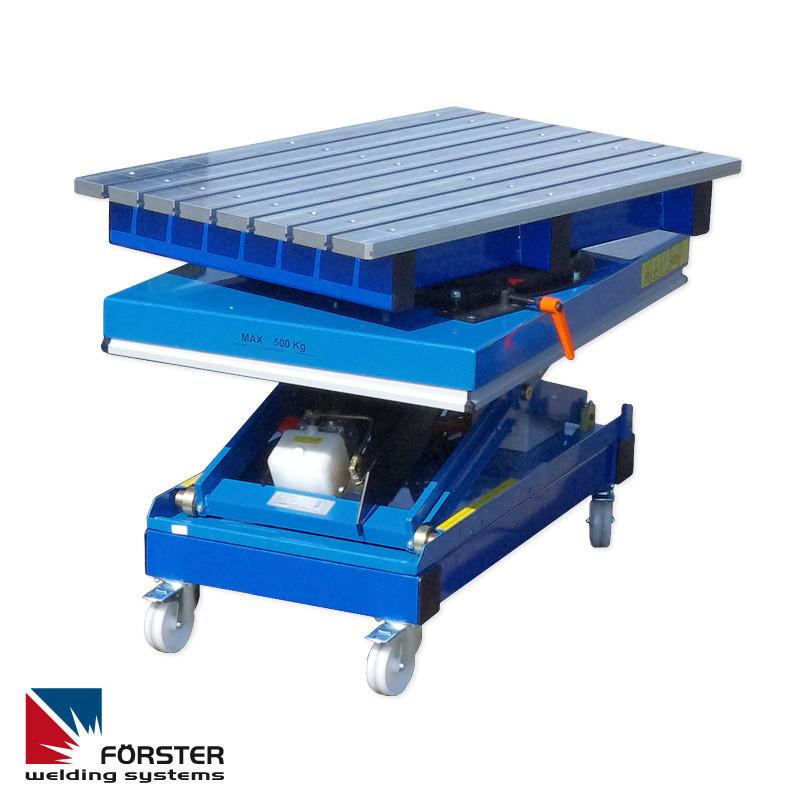 Подъемно-поворотные сварочные устройства (сварочные столы)