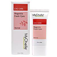 MyChelle Dermaceuticals, Magnolia Fresh Eyes, для всех типов кожи/комбинированной кожи, сыворотка, Шаг 3, 0,5 жидких унций (15 мл)