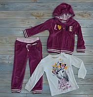 Костюм спортивный 92 см велюровый с кофтой MiDiMOD  на девочку 2 лет