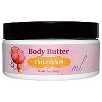Madre Labs, Масло для тела, Цитрусовый всплеск, увлажняет с помощью арганового и марулового масла + масла ши, 7 унций (198 г)