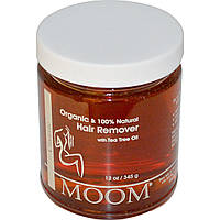 Moom, Средство для удаления волос с Маслом Чайного Дерева, 2 унции (345 г)