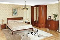 Спальня из натурального дерева коллекции «Полесье-1»