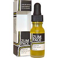 Indigo Wild, Zum Face, Сыворотка для лица с аргановым маслом, 0.5 унции