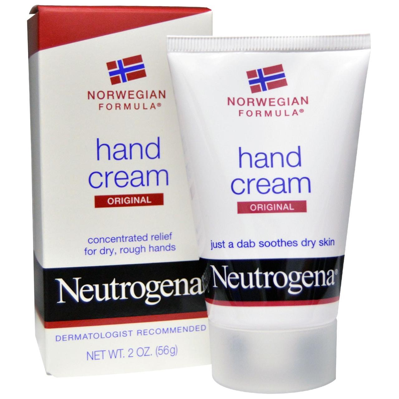 Neutrogena, Крем для рук Оригінальний, 2 унції (56 г)