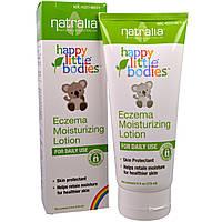 Natralia, Счастливые малыши, Eczema , увлажняющий лосьон, 6 жид.унций (175 мл)