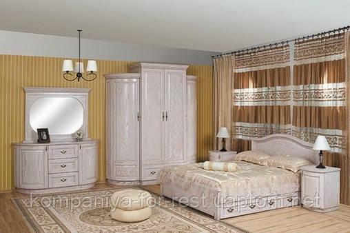 Спальня из массива дерева коллекции «Полесье-2»
