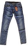 Узкие мужские джинсы Franco Benussi 13-050 Blue, фото 3