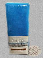 Махровый комплект на резике -1 голубой