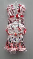 Летнее платья с болеро, для девочек оптом