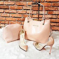 Розовое кружево сумка, туфли  Michael Kors