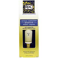 RoC, Ретинол Коррексион, ночной крем для чувствительной кожи, 1 жидк. унц. (30 мл)