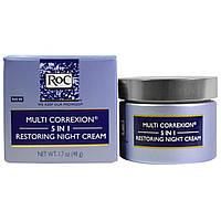 RoC, Ночной восстанавливающий крем Мульти Коррексион 5-в-1, 1,7 унции (48 г)