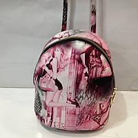 Женский рюкзак - (женская) сумка 2 в 1,  эко-кожа\\Молодежный городской рюкзак из эко кожи  оптом