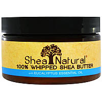 Shea Natural, Whipped Shea Butter With Eucalyptus Essential Oil, 3.2 oz (90 g)