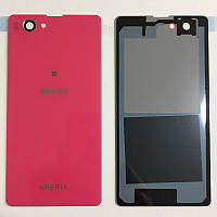Задня кришка Sony D5503 Xperia Z1 Compact (Рожева) Original