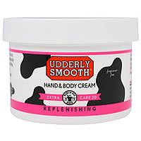 Udderly Smooth, Гладкость вымени, усиленный уход 20, крем для рук и тела с 20% мочевины, 8 унций (227 г)